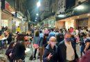 La primera Noche de Peatonales fue un éxito de concurrencia en Rosario