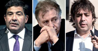 Llegó el turno del alegato fiscal en el juicio contra Echegaray, López y De Sousa.
