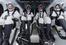 Amerizó con éxito primera misión con turistas espaciales