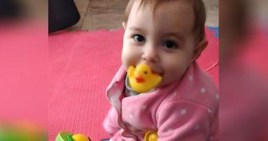 Una bebé rosarina sufre una extraña enfermedad que sus padres buscan visibilizar