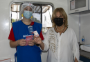 La provincia comenzó la vacunación con Cansino en Rosario